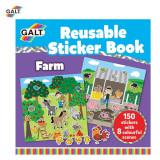 Cartea mea cu stickere - Ferma PlayLearn Toys, Galt