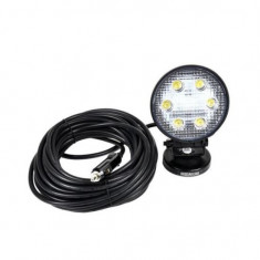 Lampa de atelier cu led, Bass BS-3928, putere mare 18 W, 1620 lm, alimentare 12-24 V, IP67 Mania Tools