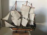 Corabie miniaturala ,macheta franceza,HMS Endeavour
