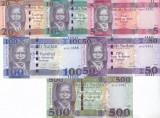 Bancnota Sudanul de Sud 5 - 500 Pounds 2015-18 - P11-15 UNC ( set x6 )