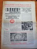 Ziarul viata buzaului 5 mai 1984-ziua tineretului