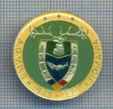 AX 134 INSIGNA VANATOARE SI PESCUIT SPORTIV PERIOADA RSR -A.G.V.P.S -1948-1988