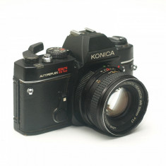 Konica Autoreflex TC + Obiectiv Konica Hexanon 50mm F1.7