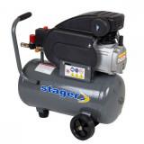 Cumpara ieftin Compresor Aer Stager Hm2024B, 2 Cp, 24 L, 8 Bar