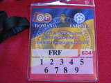 Acreditare meci fotbal ROMANIA - ESTONIA (15.10.2013)