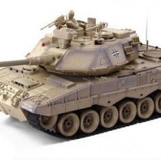 Masina Zegan, German Leopard 2 1:18 RTR ASG Cu Telecomanda