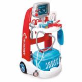Jucarie Carucior medical electronic cu trusa si aparatura 340202 Smoby