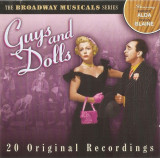 CD Robert Alda / Vivian Blaine ‎– Guys And Dolls, original