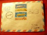 Plic - Primul zbor cu Avionul BAC 1-11 Bucuresti- Tirana 1979