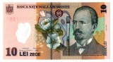 ROMANIA - 10 Lei 2006 Necirculata . Bancnota din polymer UNC .
