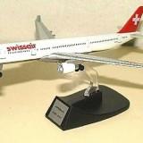 Macheta avion Airbus 330-223 Swissair  scara 1:500, Alta