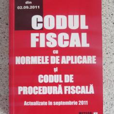 Codul fiscal 2011 cu normele de aplicare si Codul de procedura fiscala