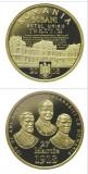 Moneda ROMANIA  50 bani 2018 proof - Unirea Basarabiei 100 ani ( Basarabia ) Unc