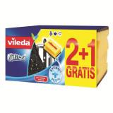 Burete vase Vileda Glitzi 2+1