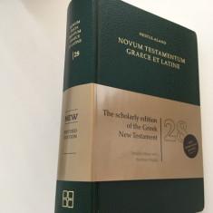 BIBLIA NOVUM TESTAMENTUM GRAECE ET LATINE EDITIA 28 DEUTSCHE BIBELGESELLSCHAFT