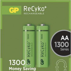 Acumulator AA (R6) GP NiMH Recyko+ 1300mAh 2 buc blister