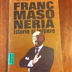 Christian Jacq - FRANCMASONERIA Istorie si initiere (Ca noua!)