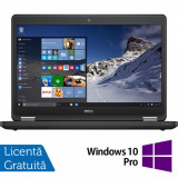 Laptop DELL Latitude E5470, Intel Core i3-6100U 2.30GHz, 4GB DDR4, 120GB SSD, 14 Inch + Windows 10 Pro