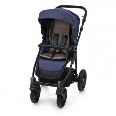 Carucior multifunctional 2 in 1 Baby Design Lupo Comfort 03 Navy 2018