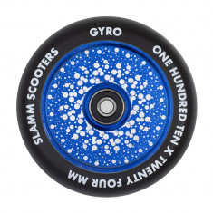Roata trotineta Slamm 110mm Gyro Hollow Core Blue + Abec 9