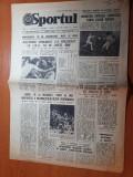 Sportul 4 august 1981-atletismul romanesc 15 medalii la universiada