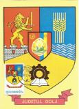 TSV* - MAXIMA DOLJ - STEMA JUDETULUI HERALDICA `79 STAMPILA 1