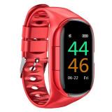 Cumpara ieftin Bratara Smart Fitness cu Casti Bluetooth InEar Techstar® M1 Bluetooth 5.0, HD TFT, Incarcare USB, Greutate 36g, Control Touch, Incarcare Magnetica, Ro