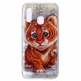 Cumpara ieftin Carcasa Husa Samsung Galaxy A20e model Baby Tiger, Antisoc + Folie sticla securizata Samsung Galaxy A20e Full Tempered Glass Viceversa