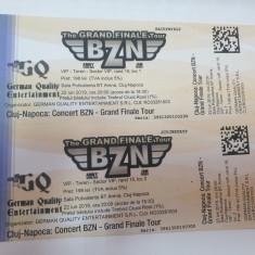 Vand 2 bilete la Concetul BZN de la Cluj de pe data de 22 iunie 2019