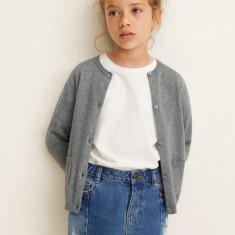 Mango Kids - Cardigan copii Emma 110-164 cm