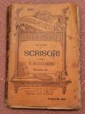 Scrisori Catre V. Alecsandri Vol. III. B.P.T. Nr. 228-229 Ed Alcalay - Ion Ghica, Alta editura