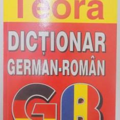 DICTIONAR GERMAN-ROMAN DE BUZUNAR de E. SIRETEANU , I. TOMEANU , 2003
