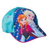Sapca fete Frozen Anna si Elsa verde