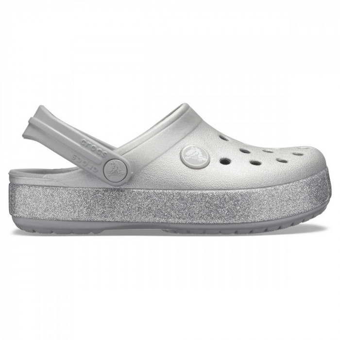 Saboți Fete casual Crocs Kids' Crocband Glitter Clog