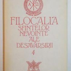 FILOCALIA SFINTELOR NEVOINTE ALE DESAVARSIRII , TRAD. INTROD. NOTE de DUMITRU STANILOAE , EDITIA A II A , VOL IV , 1994