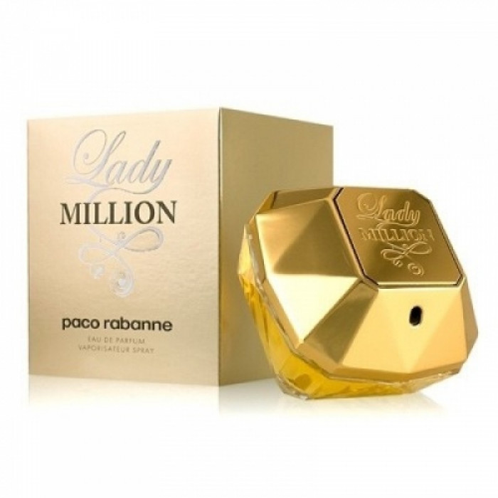 Apa de parfum Femei, Paco Rabanne Lady Million, 50ml