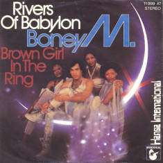 "Boney M. – Rivers Of Babylon / Brown Girl In The Ring Disc vinil single 7"""