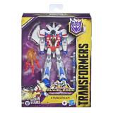Robot Transformers vehicul Cyberverse Deluxe Starscream, Hasbro