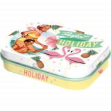 Cutie metalica cu bomboane - Holiday