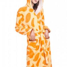 PJM70-199 Halat pufos cu cordon in talie, model girafa