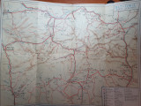 harta turistica judetele ols si timis - perioada comunista