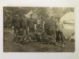 Fotografie veche grup de soldati - primul razboi mondial (8)