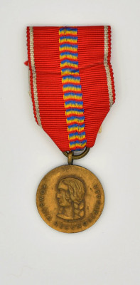 Medalia  Cruciada Impotriva Comunismului 1941 foto