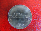 Moneda argint 2 Lire malta 1972