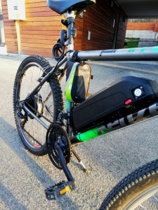 Bicicleta Kenzel Prime + motor electric 500w