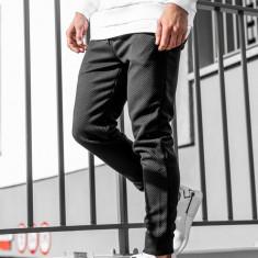 Pantaloni trening bărbați negru Bolf 1884
