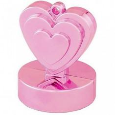 Greutate baloane cu heliu inima roz 110 gr