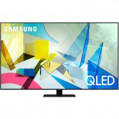 Televizor Samsung QLED Smart TV QE55Q80TATXXH 139cm Ultra HD 4K Carbon Silver