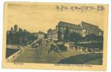 5122 - BUCURESTI, Market, Justice Palace - old postcard, CENSOR - used - 1917