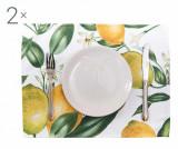 Set 2 suporturi farfurii Lemons 33x45 cm